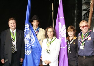 Major Road Safety Events, 22nd World Scout Jamboree in Sweden, August 2011