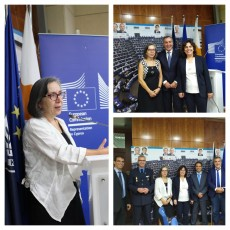 Road Safety conference was organized by the delegation of the European Commission at the House of European Union in Cyprus, in Nicosia on June 28th, 2019.